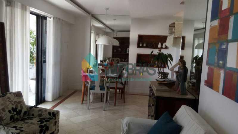 SALA - Cobertura 3 quartos à venda Lagoa, IMOBRAS RJ - R$ 2.980.000 - BOCO30029 - 3
