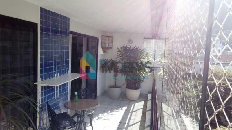 Varanda - Cobertura 3 quartos à venda Lagoa, IMOBRAS RJ - R$ 2.980.000 - BOCO30029 - 20
