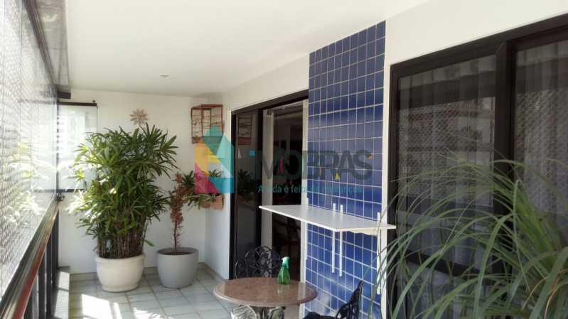 Varanda - Cobertura 3 quartos à venda Lagoa, IMOBRAS RJ - R$ 2.980.000 - BOCO30029 - 23