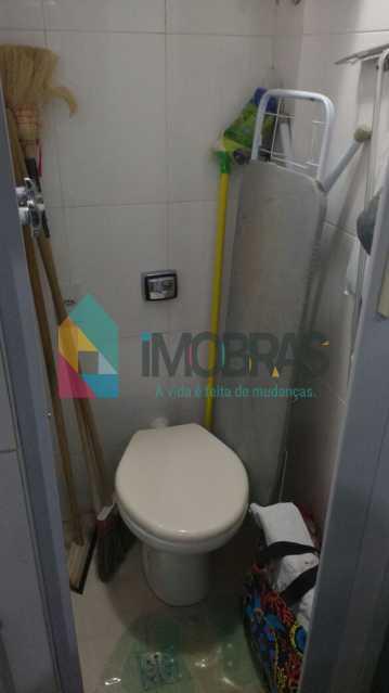 banheiro de serviço - Apartamento Catete, IMOBRAS RJ,Rio de Janeiro, RJ À Venda, 2 Quartos, 68m² - FLAP20020 - 20