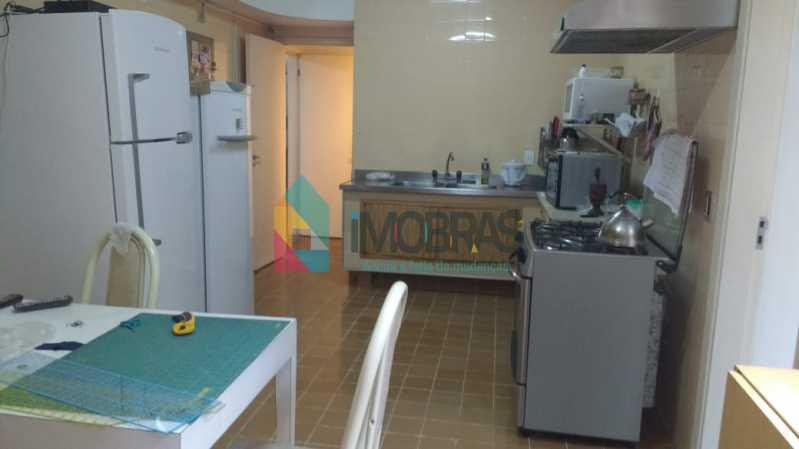 cozinha 1 - APARTAMENTO NO COSME VELHO COM 2 VAGAS DE GARAGEM!! - FLAP30032 - 13