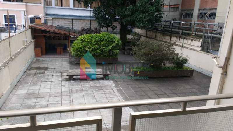vista da varanda para o play - APARTAMENTO NO COSME VELHO COM 2 VAGAS DE GARAGEM!! - FLAP30032 - 17