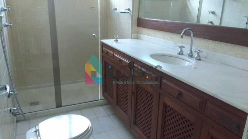 banheiro suite - Apartamento Cosme Velho,IMOBRAS RJ,Rio de Janeiro,RJ À Venda,4 Quartos,190m² - FLAP40014 - 19