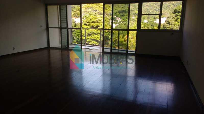 sala 1 - Apartamento Cosme Velho,IMOBRAS RJ,Rio de Janeiro,RJ À Venda,4 Quartos,190m² - FLAP40014 - 4