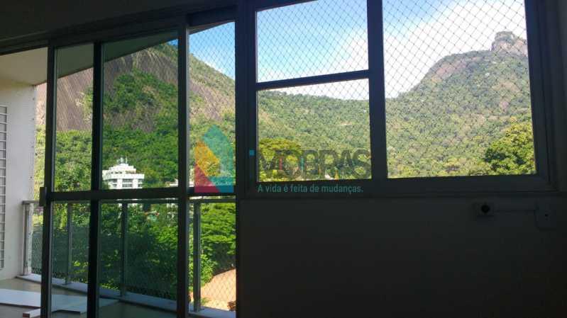 vista da sala - Apartamento Cosme Velho,IMOBRAS RJ,Rio de Janeiro,RJ À Venda,4 Quartos,190m² - FLAP40014 - 6