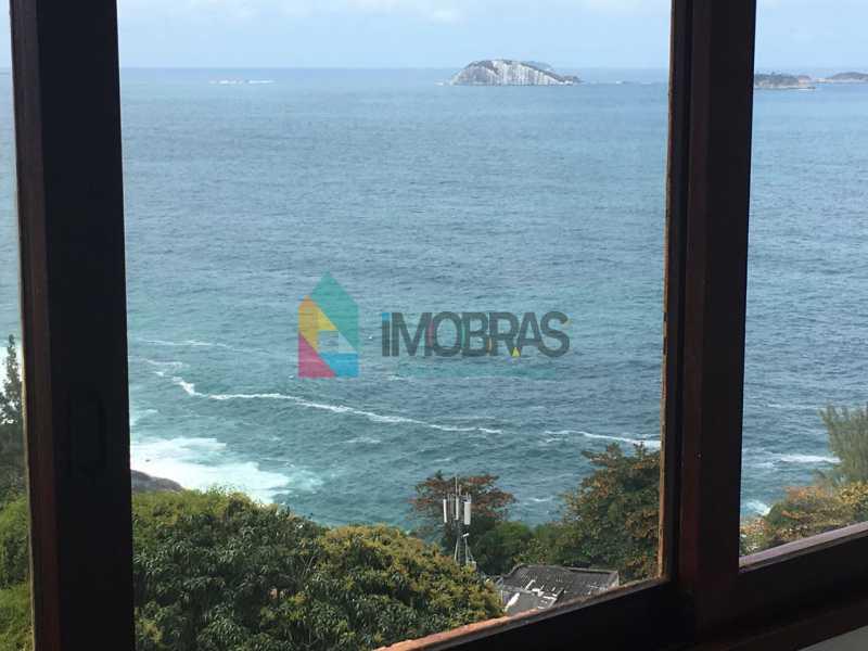 Vista mar do quarto 1 - Apartamento 2 quartos à venda Vidigal, Rio de Janeiro - R$ 400.000 - BOAP20446 - 13