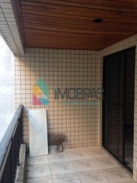 Varanda - Apartamento 2 quartos à venda Catete, IMOBRAS RJ - R$ 470.000 - FLAP20059 - 1