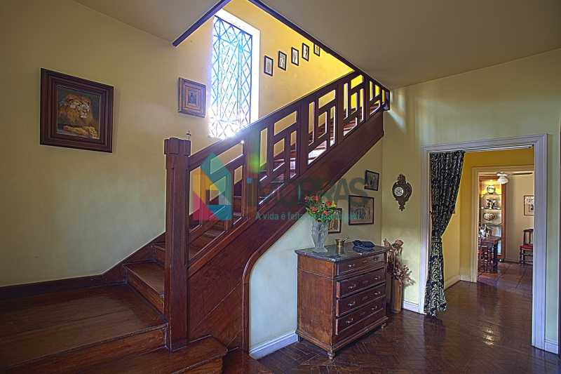hall e escada 1 - EXCELENTE CASA EM COSME VELHO!!! - FLCA40001 - 6