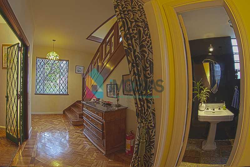 hall e escada 2 - EXCELENTE CASA EM COSME VELHO!!! - FLCA40001 - 7