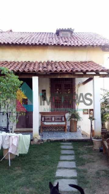 Quintal - Casa Rua Costa Bastos,Santa Teresa,Rio de Janeiro,RJ À Venda,4 Quartos,83m² - BOCA40009 - 3