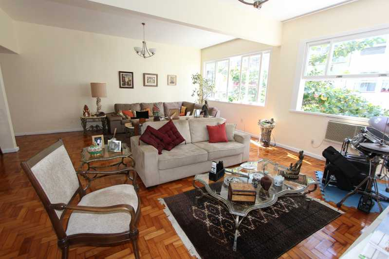 1 - Sala estar 1 - Apartamento à venda Rua Assis Brasil,Copacabana, IMOBRAS RJ - R$ 2.360.000 - AP913 - 1