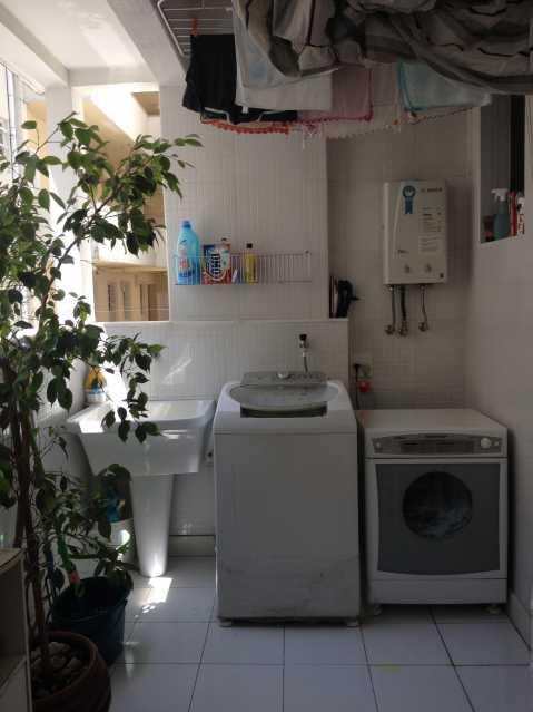 14 - Area de Servico.Dependenc - Apartamento à venda Rua Assis Brasil,Copacabana, IMOBRAS RJ - R$ 2.360.000 - AP913 - 15