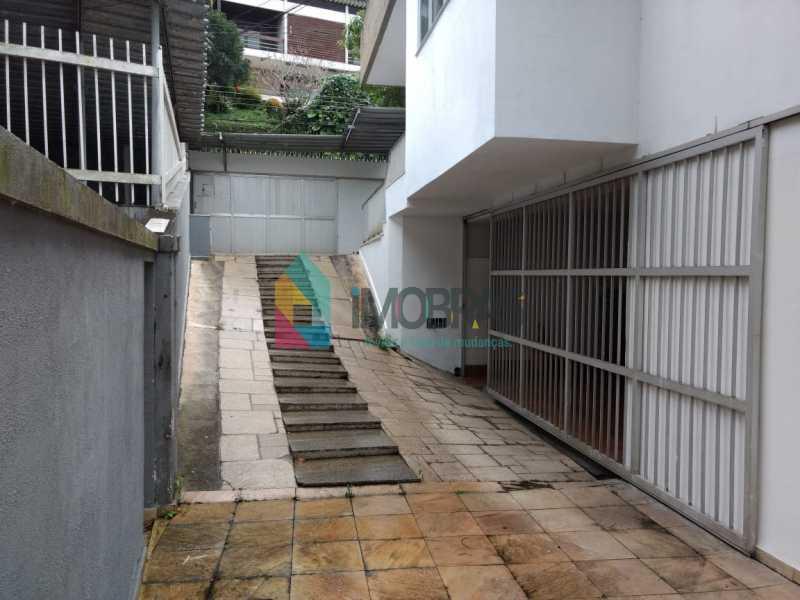 1ª entrada de garagem - Casa à venda Rua General Mariante,Laranjeiras, IMOBRAS RJ - R$ 2.000.000 - FLCA50001 - 15