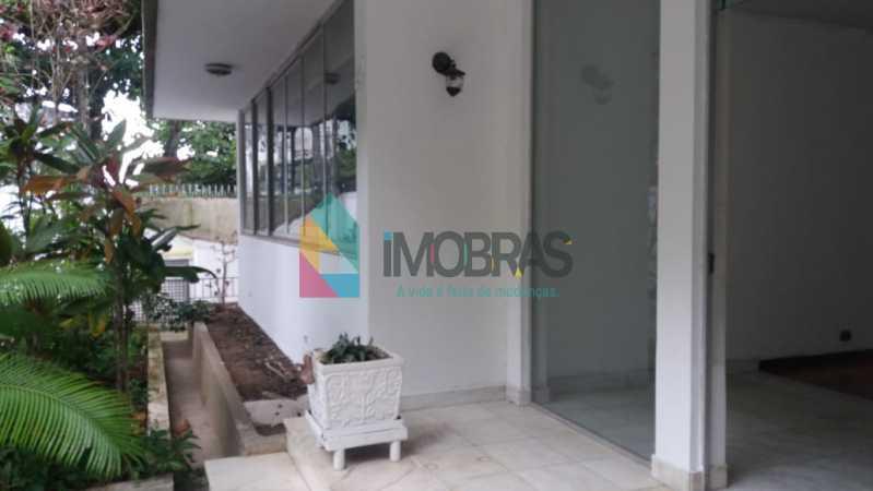 parte externa 1 - Casa à venda Rua General Mariante,Laranjeiras, IMOBRAS RJ - R$ 2.000.000 - FLCA50001 - 8