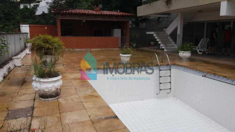 piscina 1.2 - Casa à venda Rua General Mariante,Laranjeiras, IMOBRAS RJ - R$ 2.000.000 - FLCA50001 - 4
