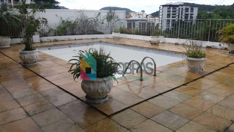 piscina 1 - Casa à venda Rua General Mariante,Laranjeiras, IMOBRAS RJ - R$ 2.000.000 - FLCA50001 - 5