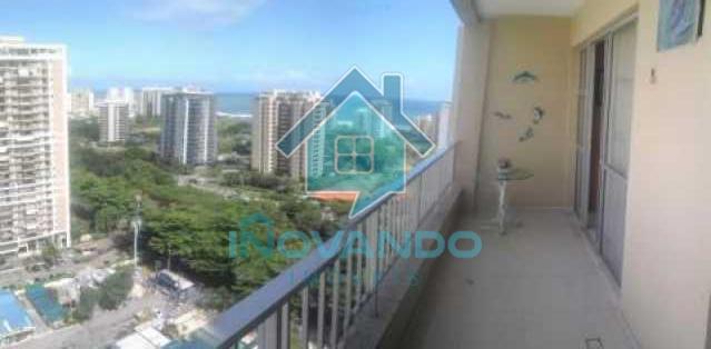 181721019616604 - Apartamento na Barra da Tijuca-Parque das Rosas- 2 quartos com 80m² - - 388B - 3