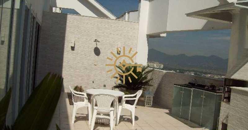 26655 - Apartamento cobertura na Barra da Tijuca- Barra Bali- 3 quartos com 160m²- - 133K - 3