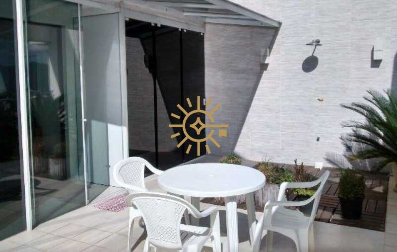 26656 - Apartamento cobertura na Barra da Tijuca- Barra Bali- 3 quartos com 160m²- - 133K - 4