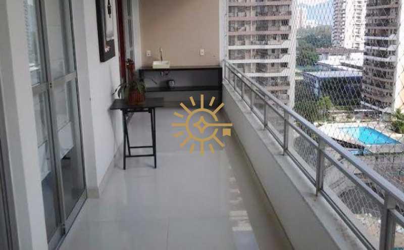 24559 - Apartamento na Barra da Tijuca Parque Rosas- 2 quartos com 94m² - 140B - 1