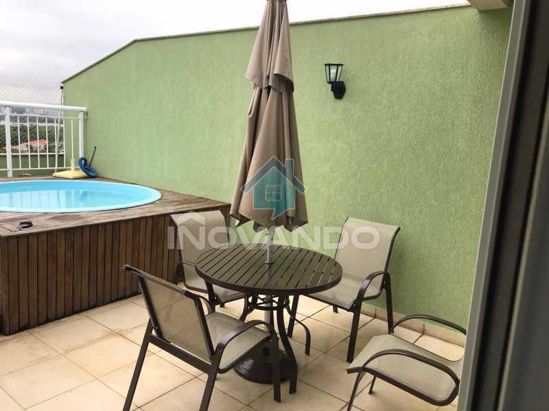 228206c4-2b3b-4c5c-af84-5851d8 - Apartamento cobertura na Barra da Tijuca-Vitality - 3 quartos com 178m² - 439K - 4