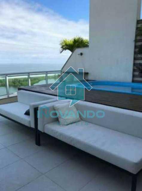 6e88028da2c80a3e770b2864e88acb - Apartamento cobertura na Barra da Tijuca-Pedra de Itauna-- 4 quartos com 700m²- - 486K - 17