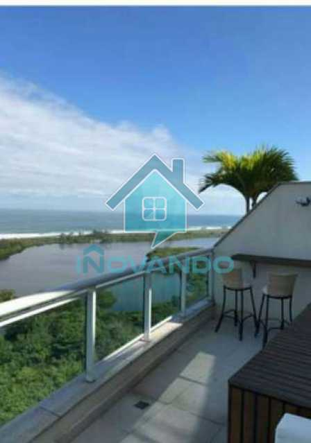2072eb640616de79e6713876aac4f7 - Apartamento cobertura na Barra da Tijuca-Pedra de Itauna-- 4 quartos com 700m²- - 486K - 22