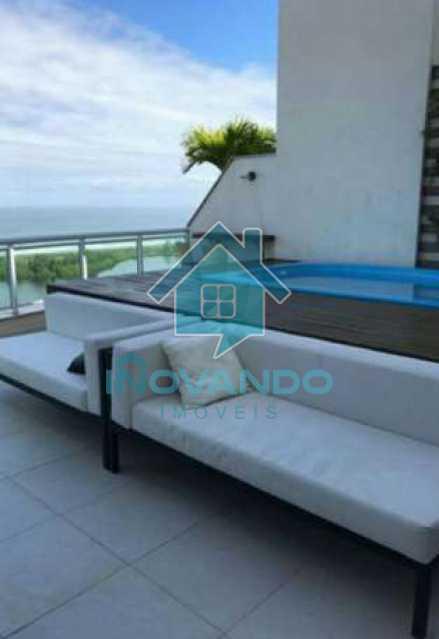 d55bb1a548b83aecdde9f066f2d858 - Apartamento cobertura na Barra da Tijuca-Pedra de Itauna-- 4 quartos com 700m²- - 486K - 27