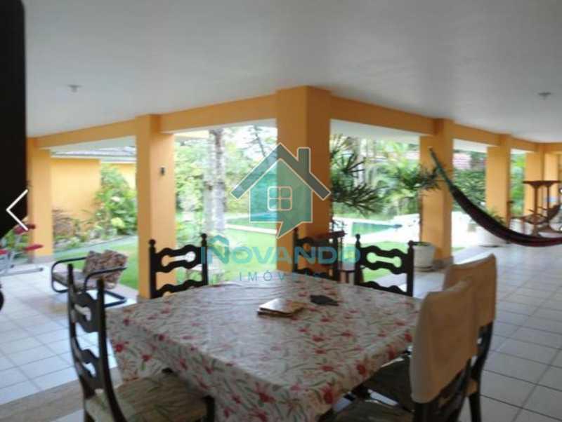1019441703 - Casa na Barra da Tijuca no condomínio Mansões, 4 quartos com 750m - - 503 - 21