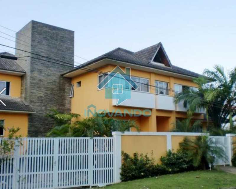 1019441750 - Casa na Barra da Tijuca no condomínio Mansões, 4 quartos com 750m - - 503 - 28