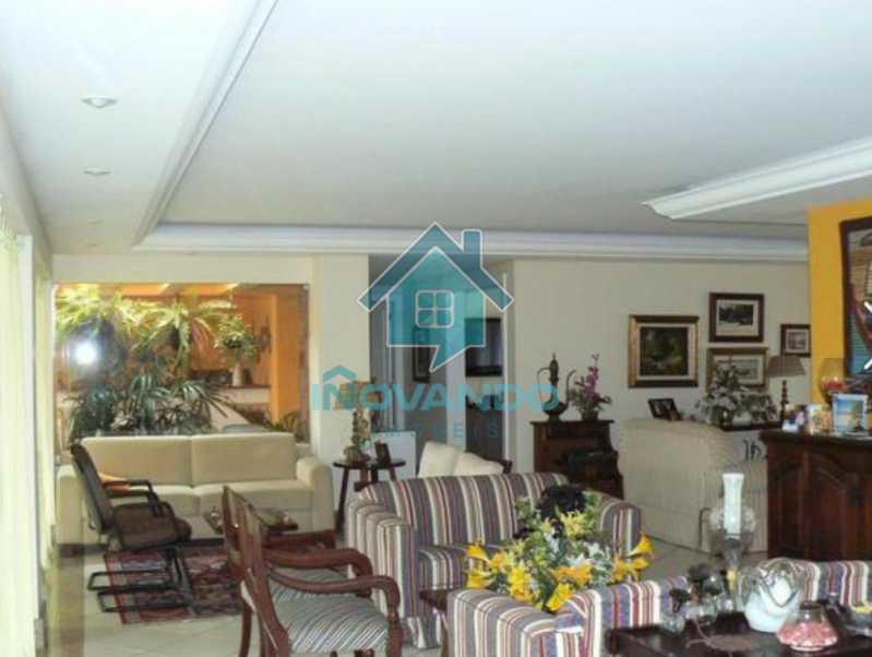 1019441702 - Casa na Barra da Tijuca no condomínio Mansões, 4 quartos com 750m - - 503 - 34