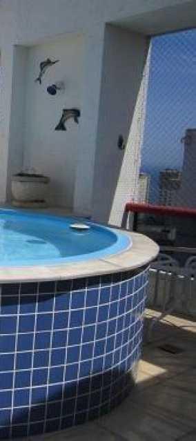 20798 - Apartamento cobertura na Barra da Tijuca LAKE BUENA VISTA - 4 quartos com 255m² - 192K - 23