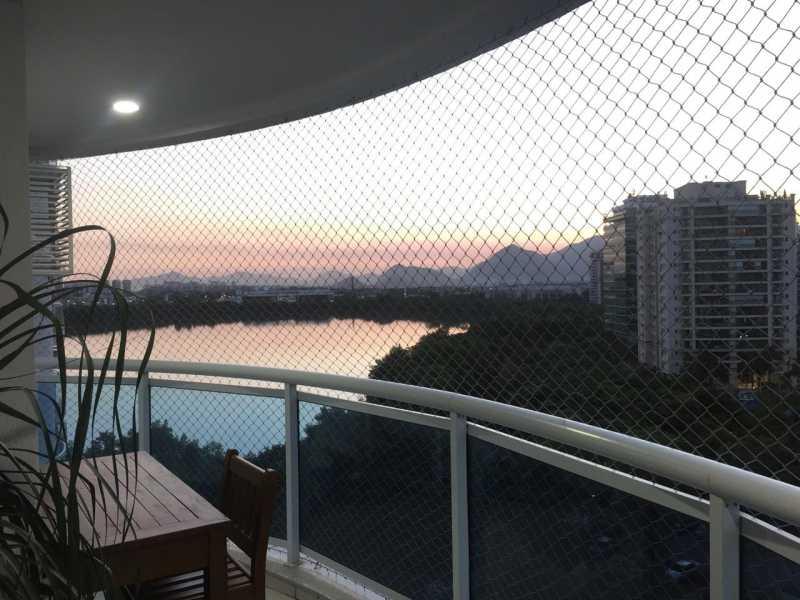 3 - Apartamento na Barra da Tijuca- Península- 2 quartos com 98m² - 595B - 1