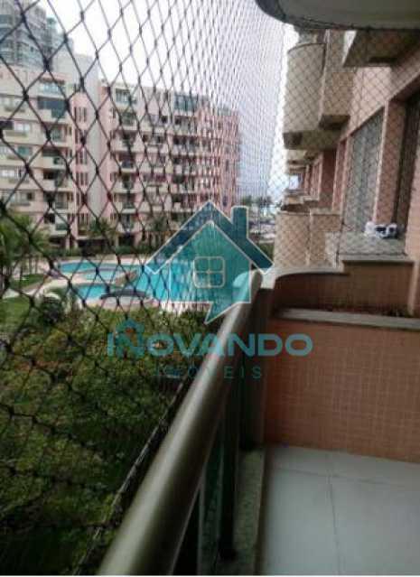 orla - Apartamento na Barra da Tijuca - Ocean Drive -1 quartos com 75m²- - 615A - 1