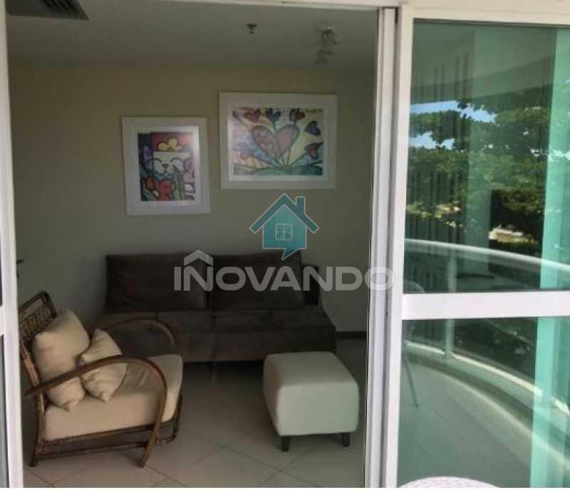 Apartamento na Barra da Tijuca -Sheraton-1 quartos com 55m² - 627A - 8