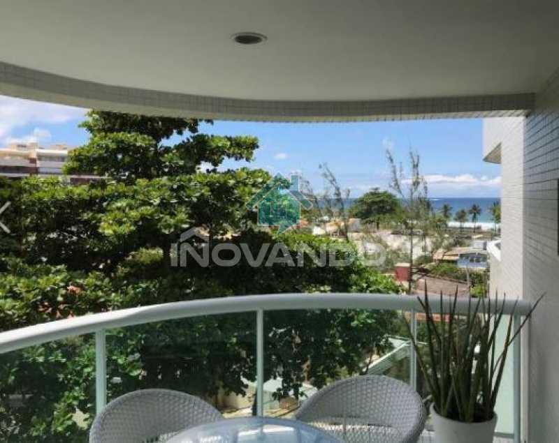 1 - Apartamento na Barra da Tijuca -Sheraton-1 quartos com 55m² - 627A - 3