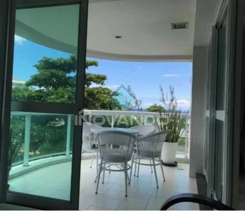 2 - Apartamento na Barra da Tijuca -Sheraton-1 quartos com 55m² - 627A - 4