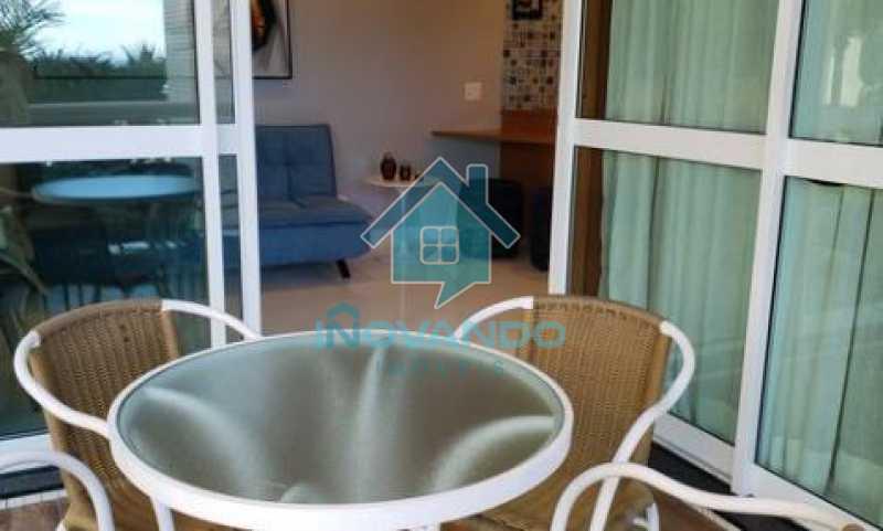Apartamento na Barra da Tijuca Sheranton -1 quartos com 52m² - 640A - 3