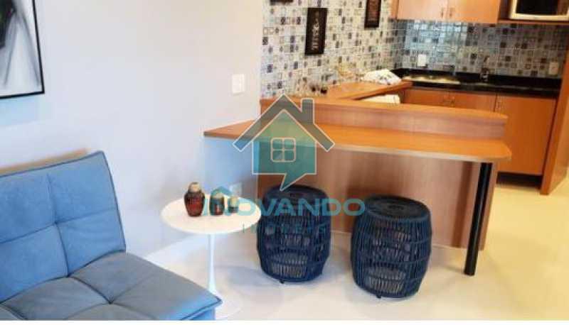 1 - Apartamento na Barra da Tijuca Sheranton -1 quartos com 52m² - 640A - 4