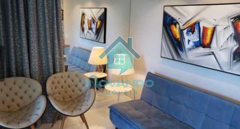 4 - Apartamento na Barra da Tijuca Sheranton -1 quartos com 52m² - 640A - 5