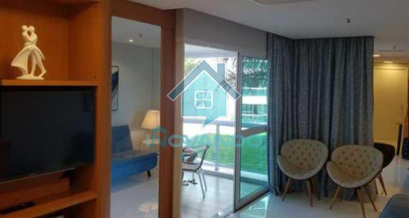 5 - Apartamento na Barra da Tijuca Sheranton -1 quartos com 52m² - 640A - 6