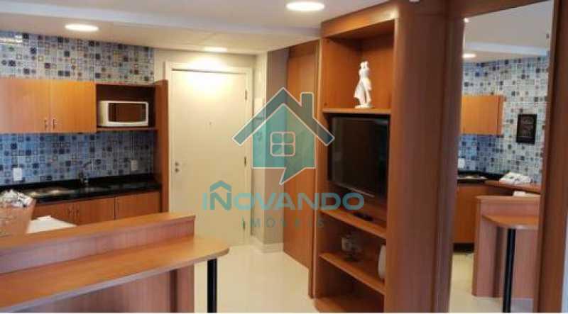 7 - Apartamento na Barra da Tijuca Sheranton -1 quartos com 52m² - 640A - 8