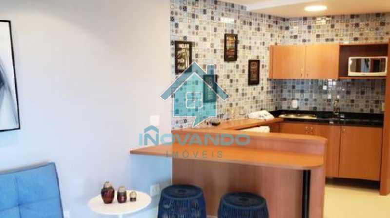 8 - Apartamento na Barra da Tijuca Sheranton -1 quartos com 52m² - 640A - 9