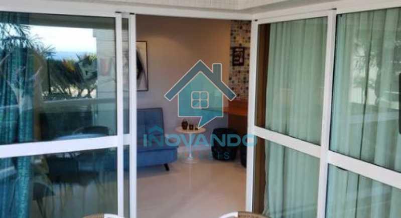 9 - Apartamento na Barra da Tijuca Sheranton -1 quartos com 52m² - 640A - 10