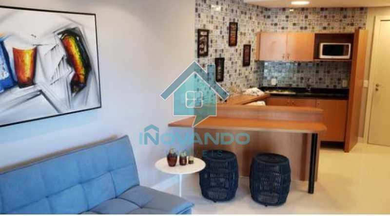 11 - Apartamento na Barra da Tijuca Sheranton -1 quartos com 52m² - 640A - 12