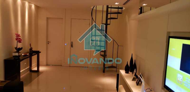 7f38a85c-7072-4e3c-9bfe-726024 - Apartamento cobertura na Barra da Tijuca- Sol de Marapendi- 4 quartos com 245m² - 716K - 3