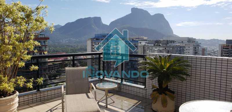 50615b0d-4ab9-4451-8f85-fd7e1b - Apartamento cobertura na Barra da Tijuca- Sol de Marapendi- 4 quartos com 245m² - 716K - 24