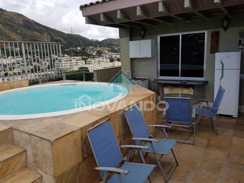 178a97cc-d7ce-4f3b-9c75-f15d38 - Apartamento cobertura de 3 quartos na Praça seca - 245m-² - - 729K - 8