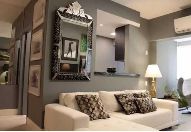 Capturar - Apartamento de 1 quartos na Barra da Tijuca Portal da Barra- 70m-² - - 738A - 1
