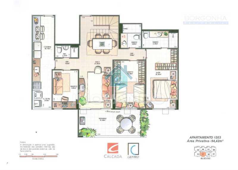 a8365c47-bc21-4993-8697-570cf1 - Barra da Tijuca - Rio2 Residencial Borgonha- 3 quartos 197m-² - 898K - 16